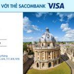 Agoda giảm đến 20% với thẻ Sacombank Visa