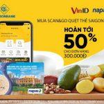 Chương trình khuyến mãi ưu đãi thẻ SaiGonBank với VinID