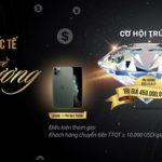 Chuyển tiền quốc tế - Rinh về kim cương cùng SCB
