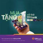 Mua 1 tặng 1 vé xem phim tại BHD và Galaxy bằng thẻ TPBank