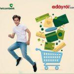 Dễ dàng thanh toán hóa đơn mua hàng trên Adayroi với Vietcombank