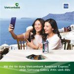 Mở thẻ tín dụng Vietcombank American Express nhận Samsung Galaxy A10S sành điệu