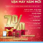 Lãi suất vay vốn chỉ từ 7%/năm cùng cơ hội trúng thưởng hàng trăm triệu đồng cùng VietinBank