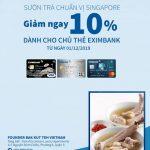 Ưu đãi tại Nhà hàng Bak Kut Teh với thẻ Eximbank