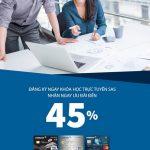 Ưu đãi tại khóa học trực tuyến SAS dành cho thẻ Eximbank