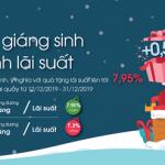 Ưu đãi lãi suất tiền gửi lên tới 7,95%/năm nhân dịp Giáng sinh tại OceanBank