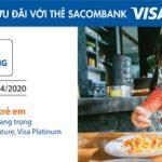 Đặc quyền Visa Kids Dining với thẻ Sacombank