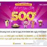 Chương trình ưu đãi HelloMomo dành cho chủ thẻ ghi nợ Bac A Bank
