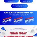Nhận ngay E-voucher đến 200.000 VNĐ khi mở tài khoản Bản Việt trực tuyến
