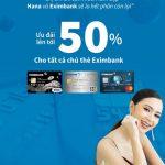 Phòng khám Hana ưu đãi cho chủ thẻ Eximbank