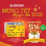 Mừng Tết nguyên đán 2020 cho thẻ tín dụng LienVietPostBank MasterCard