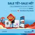 Ưu đãi tới 50%++ khi mua sắm qua ứng dụng VietinBank iPay Mobile