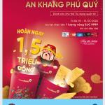 Xài thẻ nhận vàng, an khang phú quý cùng VietinBank