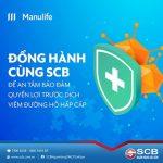 Đồng hành cùng SCB để an tâm bảo đảm quyền lợi trước dịch viêm đường hô hấp cấp