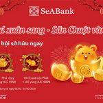 Dùng ngân hàng điện tử SeABank Vui xuân sang, săn chuột vàng