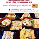 Tận hưởng 8/3 ngập tràn ưu đãi cùng thẻ Agribank JCB