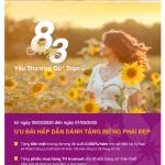 Bac A Bank dành ngàn quà yêu thương gửi tặng khách hàng nữ