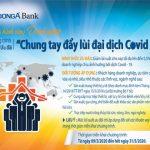 DongA Bank cho vay ưu đãi 500 tỷ đồng góp phần Chung tay đẩy lùi đại dịch Covid-19