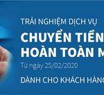Eximbank miễn phí chuyển tiền nhanh online từ 25/02/2020
