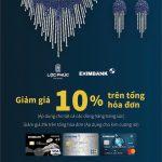 Lộc Phúc Fine Jewelry ưu đãi giảm giá cho chủ thẻ Eximbank