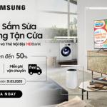 Giảm giá lên đến 50% sản phẩm Samsung khi sử dụng thẻ HDBank