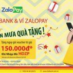 Cùng HDBank và Zalopay đón mưa quà tặng