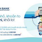 OceanBank giảm tiếp 50%++ phí chuyển khoản liên ngân hàng 24/7