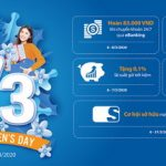 Chương trình ưu đãi của Sacombank nhân ngày Quốc tế phụ nữ 8/3