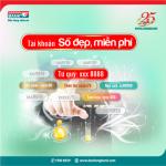 Sở hữu tài khoản số đẹp tại Kienlongbank dễ dàng và miễn phí