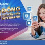 VietABank miễn phí chuyển khoản liên ngân hàng đối với gói tài khoản combo 3