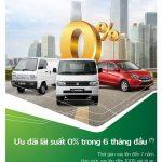 Vay mua ô tô Suzuki với lãi suất 0% trong 06 tháng đầu tại Vietcombank