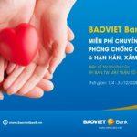 BaoViet Bank miễn phí chuyển tiền ủng hộ đến UBTW MTTQVN