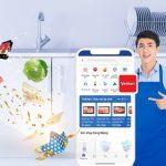 Giảm 10% khi đi chợ VinMart Online trên BIDV SmartBanking