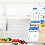 Đi chợ Online ngay trên ứng dụng BIDV SmartBanking