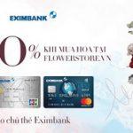 Flowerstore ưu đãi cho chủ thẻ Eximbank