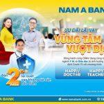 Nam A Bank ưu đãi vay cho CBNV ngành Giáo dục và Y tế mùa dịch Covid-19