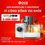 Cùng OCB nhận ưu đãi từ Nguyễn Kim