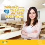PVcomBank ra mắt gói vay Tiếp sức thầy cô, An tâm vượt dịch