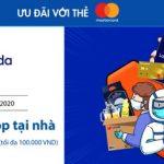 An tâm shop tại nhà qua Lazada với thẻ Sacombank Mastercard