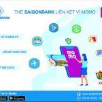 Truyền thông thẻ SaiGonBank kết nối ví Momo