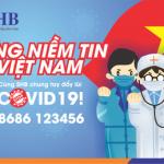 SHB phát động chiến dịch Vững niềm tin Việt Nam - Hãy là những người khỏe mạnh để cùng SHB và cộng đồng đẩy lùi đại dịch