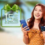 Ưu đãi mở thẻ tín dụng Vietcombank thương hiệu American Express hoàn tiền đến 2 triệu đồng và cơ hội nhận điện thoại Samsung Galaxy A10s