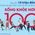 Tặng đến 10 triệu đồng khi tham gia bảo hiểm nhân thọ AIA tại Bản Việt