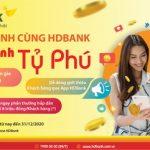 HDBank đồng hành cùng khách hàng với nhiều ưu đãi hấp dẫn