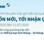 Gửi vốn mới, tới nhận quà cùng lãi suất siêu ưu đãi tại Eximbank