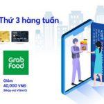Ưu đãi thứ 3 hàng tuần khi thanh toán GrabFood và Now.vn với thẻ MB Visa