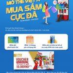 Mở thẻ Việt Á, mua sắm cực đã