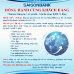 SaiGonBank triển khai gói tín dụng 1.000 tỷ đồng đồng hành cùng khách hàng