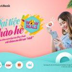 Chào hè, nhận hàng ngàn ưu đãi khi dùng thẻ quốc tế SeaBank