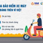 Mua bảo hiểm xe máy dễ dàng trên Ví Việt